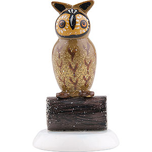 Small Figures & Ornaments Hubrig Winter Kids Winter Children Set of Four Owl - 3,5 cm / 1,5 inch