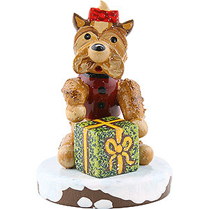 Small Figures & Ornaments Hubrig Winter Kids Winter Children Set of Three Dogs - 3 cm / 1 inch