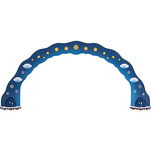 Small Figures & Ornaments Hubrig Winter Kids Winter Children Sky Arch - 110x50 cm / 43.3x19.7 inch