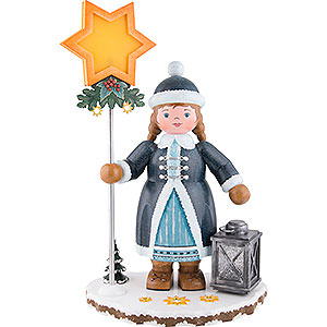 Small Figures & Ornaments Hubrig Winter Kids Winter Children Snow Child - 53 cm / 21 inch