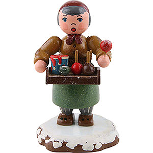 Small Figures & Ornaments Hubrig Winter Kids Winter Children Sweet Fruits - 6,5 cm / 2,5 inch