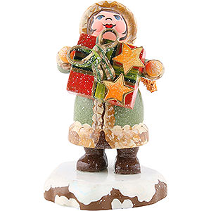 Small Figures & Ornaments Hubrig Winter Kids Winter Children Thank You - 5 cm / 2 inch