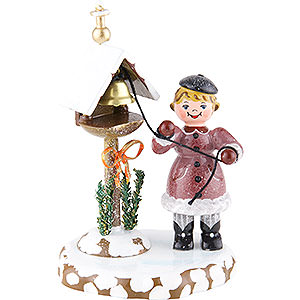 Small Figures & Ornaments Hubrig Winter Kids Winter Children Winter Bells - 10 cm / 4 inch