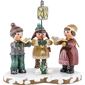 Small Figures & Ornaments Hubrig Winter Kids Winter Children Winter Group - 10 cm / 4 inch