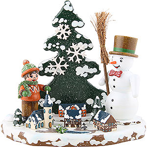 Small Figures & Ornaments Hubrig Winter Kids Winter Children in the Winter Wonder Land - 11 cm / 4.3 inch