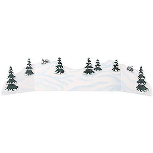 Small Figures & Ornaments Hubrig Winter Kids Winter Landscape Diorama - 100-115x24 cm / 39-45x9,5 inch