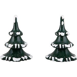 Kleine Figuren & Miniaturen Hubrig Winterkinder Winterkinder 2er-Set Baum - klein - 6 cm