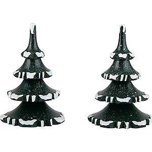 Kleine Figuren & Miniaturen Hubrig Winterkinder Winterkinder 2er-Set Baum - mittel - 8 cm