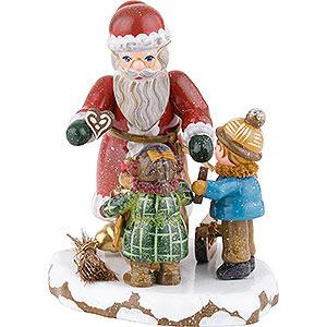 Kleine Figuren & Miniaturen Hubrig Winterkinder Winterkinder Danke lieber Weihnachtsmann - 9 cm