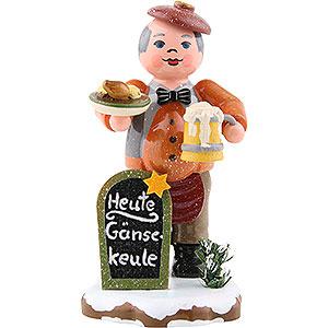 Kleine Figuren & Miniaturen Hubrig Winterkinder Winterkinder Gastwirt - 8 cm