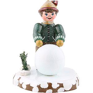 Kleine Figuren & Miniaturen Hubrig Winterkinder Winterkinder Junge mit Schneekugel