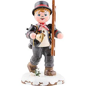 Kleine Figuren & Miniaturen Hubrig Winterkinder Winterkinder Kaminfeger - 8 cm