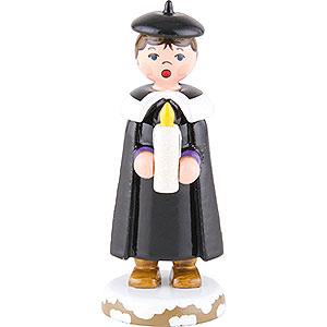 Kleine Figuren & Miniaturen Hubrig Winterkinder Winterkinder Kurrendemädchen mit Licht - 7 cm