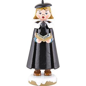 Kleine Figuren & Miniaturen Hubrig Winterkinder Winterkinder Kurrendemädchen mit Buch - 8 cm