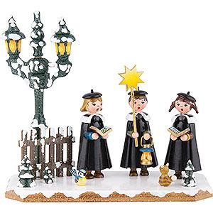 Kleine Figuren & Miniaturen Hubrig Winterkinder Winterkinder Kurrendesänger - 16x14 cm