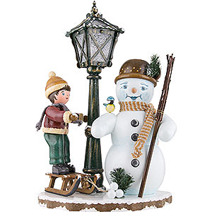 Kleine Figuren & Miniaturen Hubrig Winterkinder Winterkinder Mein schönster Schneemann - 53 cm