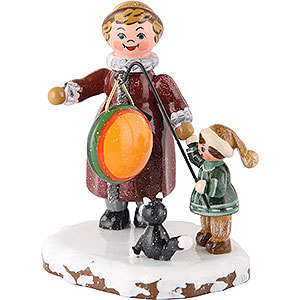 Kleine Figuren & Miniaturen Hubrig Winterkinder Winterkinder Meine große Schwester und ich - 8 cm