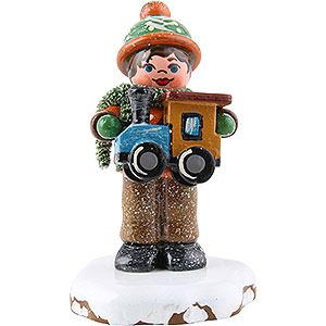Kleine Figuren & Miniaturen Hubrig Winterkinder Winterkinder Paulchens Weihnachtswunsch - 5 cm