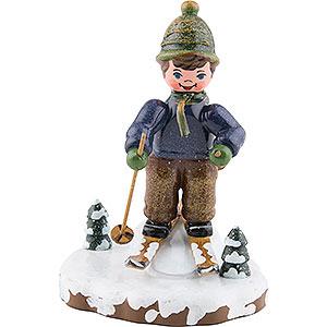 Kleine Figuren & Miniaturen Hubrig Winterkinder Winterkinder Schneeschuhfahrt - 8 cm