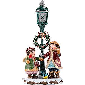 Kleine Figuren & Miniaturen Hubrig Winterkinder Winterkinder Strahlende Kinderaugen - 13 cm