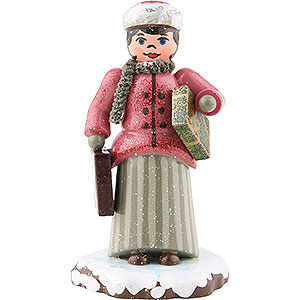 Kleine Figuren & Miniaturen Hubrig Winterkinder Winterkinder Weihnachtseinkäufe - 7,5 cm