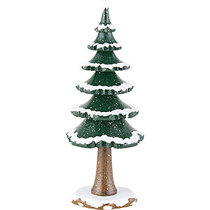 Kleine Figuren & Miniaturen Hubrig Winterkinder Winterkinder Winterbaum groß - 19 cm