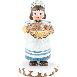 Kleine Figuren & Miniaturen Hubrig Winterkinder Winterkinder Zuckerbäckerin - 7 cm