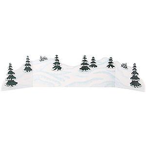 Kleine Figuren & Miniaturen Hubrig Winterkinder Winterlandschaft Diorama - zw. 100 und 115 cm verstellbar