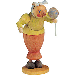 Kleine Figuren & Miniaturen Märchenfiguren Wilhelm Busch (KWO) Witwe Bolte - 7 cm
