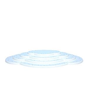 Weihnachtsengel Engelswolken/Zubehör Wolke weiß 4tlg. - B 44,5 cm