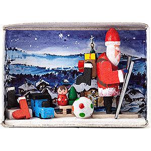 Kleine Figuren & Miniaturen Zündholzschachteln Zündholzschachtel Verlorene Weihnachtsgeschenke - 4 cm