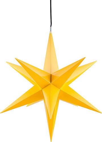 ha lauer weihnachtsstern f r innen und au en gelb inkl. Black Bedroom Furniture Sets. Home Design Ideas