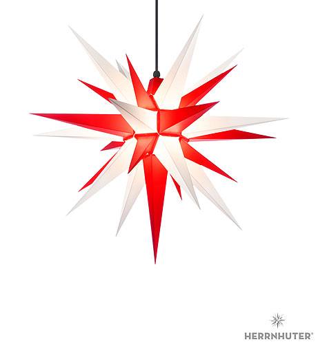 herrnhuter stern a7 weiss rot kunststoff 68 cm von. Black Bedroom Furniture Sets. Home Design Ideas