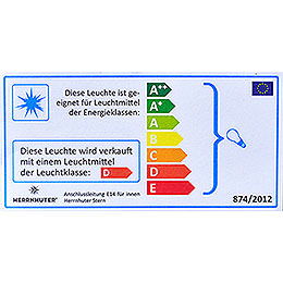 Cable and Light Bulb for Stars 29-00-I4 Bis 29-00-I8, European Union - 4m