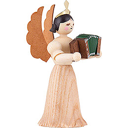 Angel with Accordion - 7 cm / 2.8 inch