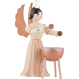 Angel with Kettledrum - 7 cm / 2.8 inch