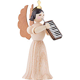 Angel with Melodica - 7 cm / 2.8 inch