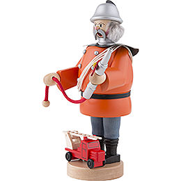 Räuchermännchen Feuerwehrmann - 21 cm