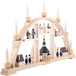 Candle Arch - Motives From Seiffen - 63x37 cm / 25x15 inch