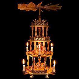 4-Tier Pyramid - Nativity - 58 cm / 22.8 inch