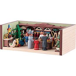 Miniaturstübchen Spielzeugladen - 4 cm
