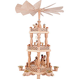 3-Tier Pyramid - Nativity - 46 cm / 18 inch