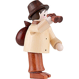 Thiel Figurine - Spy with Binoculars - natural - 5,5 cm / 2.2 inch