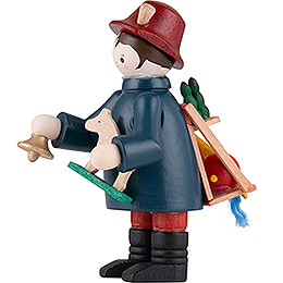 Thiel Figurine - Toy Salesman - coloured - 6 cm / 2.4 inch