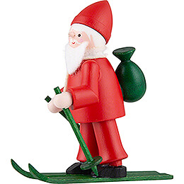 Thiel Figurine - Rupert on Ski - red - 6,5 cm / 2.6 inch
