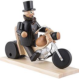 Smoker - Chimeney Sweep in Motorbike - 21 cm / 8 inch