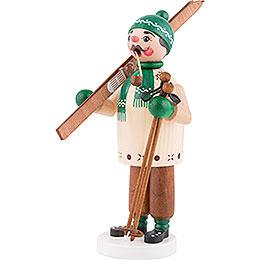 Räuchermännchen Skifahrer - 18 cm