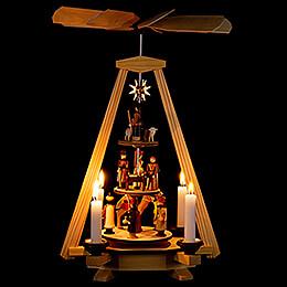 3-stöckige Pyramide Christi Geburt - 33 cm