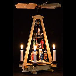 1-stöckige Pyramide Christi Geburt - 33 cm