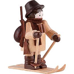 Thiel Figurine - Gamekeeper on Ski - natural - 6 cm / 2.4 inch